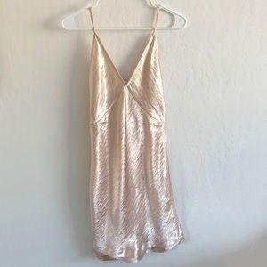 Dresses & Skirts - SATIN STRAPPY DRESS XS